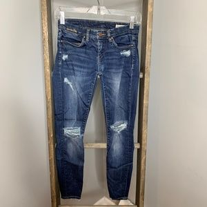 Blank NYC Destroyed Skinny Jeans